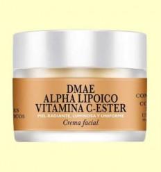 Crema Facial DMAE Alpha Lipoic Vitamina C-Ester - Natysal - 30 ml