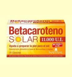 Betacarotè Solar 11000 UI - Natysal - 30 càpsules