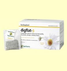 Digflat-3 Infusió - Herbora - 20 filtres