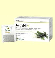 Hepabil-8 Infusió - Herbora - 20 filtres