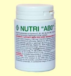 Nutri AB0 - Gheos - 60 comprimits