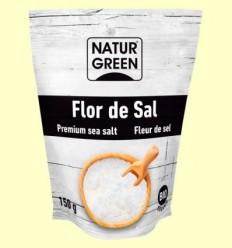 Flor de Sal Bio - NaturGreen - 150 grams