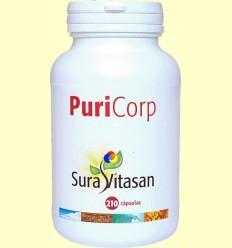 Puri-Corp 500 mg - Toxines - Sura Vitasan - 210 càpsules