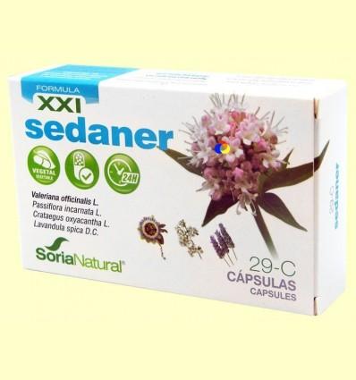Sedaner XXI 29-C - Soria Natural - 30 càpsules