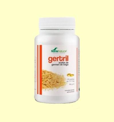 Gertril - Oli de Germen de Blat - Soria Natural - 125 perles