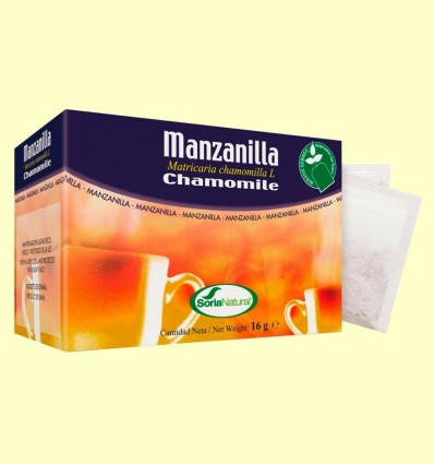 camamilla - Soria Natural - 20 filtres