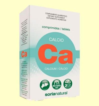 calci Retard - Soria Natural - 30 comprimits