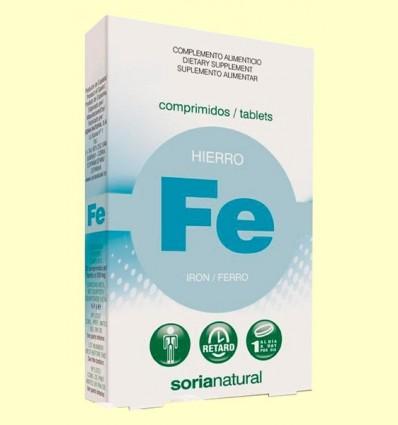 ferro Retard - Soria Natural - 32 comprimits