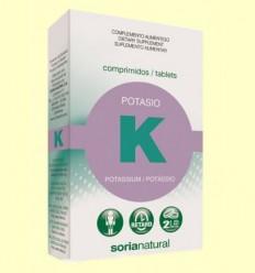 potassi Retard - Soria Natural - 20 comprimits
