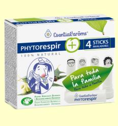 Phytorespir i 4 Sticks Inhaladors - Esential Aroms - 30 ml