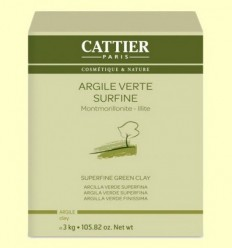 Argila Verda Superfina - Cattier - 3 kg