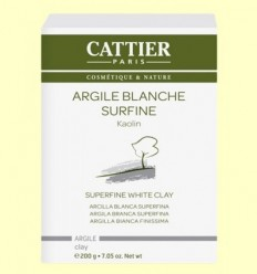 Argila Blanca Superfina - Cattier - 200 grams