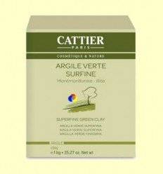 Argila Verda Superfina - Cattier - 1kg