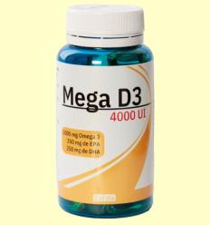 Mega D3 4000 UI - Espadiet - 60 perles
