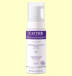 Escuma Netejadora facial Bio - Cattier - 150 ml