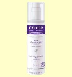 Llet desmaquilladora Cara i Ulls Bio - Cattier - 200 ml