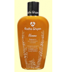 Bàlsam Henna Castaño - Radhe Shyam - 250 ml