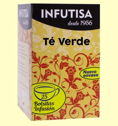 Te Verd Infusió - Infutisa - 25 bossetes