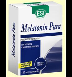 Melatonina Pura 1 mg - Melatonina - Laboratorios Esi - 120 microtabletas