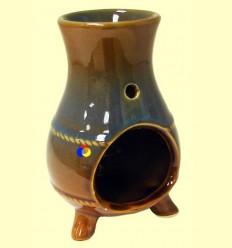 Cremador Rodó d'una peça de ceràmica per a olis essencials - Signes Grimalt