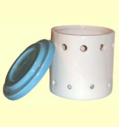 Cremador Rodó-Cilíndric de Ceràmica per a Olis Essencials - Sigris ******