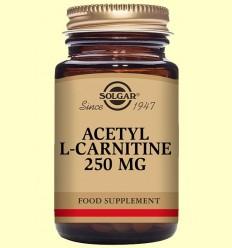 Acetil-L-Carnitina 250 mg - Aminoàcids - Solgar - 30 càpsules
