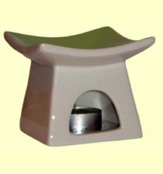 Cremador en forma de Pagoda de ceràmica per a olis essencials - Sigris