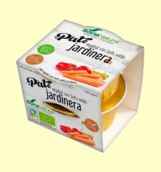 Paté Vegetal de Tofu Estil Jardinera Bio - Soria Natural - 100 grams
