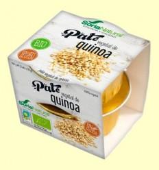 Paté Vegetal de Quinoa Bio - Soria Natural - 100 grams