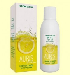 Auris Lemon - Licor de Llimona - Soria Natural - 60 ml