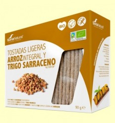 Torrades Lleugeres d'Arròs i Blat Sarraí Bio - Soria Natural - 90 grams