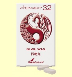 Chinasor 32 - SI WU WAN - Soria Natural - 30 comprimits