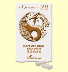 Chinasor 28 - DONEN ZHI XIAO YAO WAN - Soria Natural - 30 comprimits