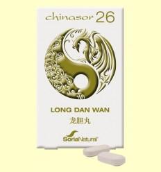 Chinasor 26 - LONG DONEN WAN - Soria Natural - 30 comprimits