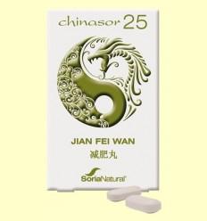 Chinasor 25 - JIAN FEI WAN - Soria Natural - 30 comprimits