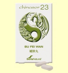 Chinasor 23 - BU FEI WAN - Soria Natural - 30 comprimits