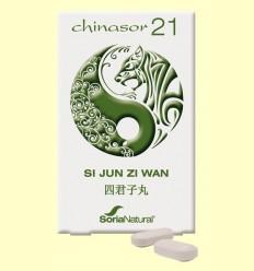 Chinasor 21 - SI JUN ZI WAN - Soria Natural - 30 comprimits
