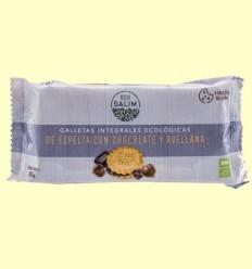 Galetes Integrals Ecològiques d'Espelta amb Xocolata i Avellanes - Eco -Salim - 80 grams