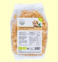 Gingebre Deshidratat Bio - Eco Salim - 200 grams
