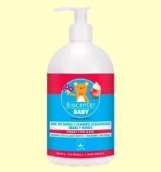 Gel de Bany Infantil Bio - Maduixes amb Nata - Biocenter - 500 ml