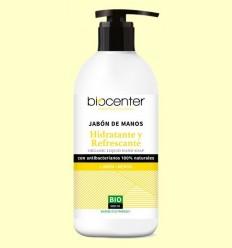 Sabó de Mans de Llimona i Menta Bio - Hidratant i Refrescant - Biocenter - 500 ml