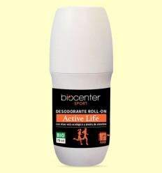 Desodorant Active Life en Roll On Bio - Biocenter - 75 ml