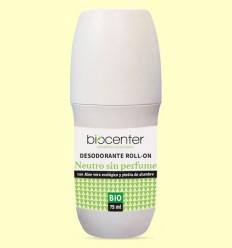 Desodorant Neutre en Roll On Bio - Biocenter - 75 ml