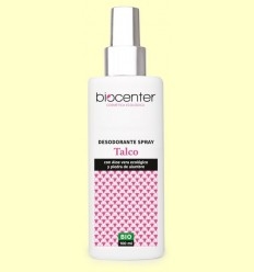 Desodorant Talc en Spray Bio - Biocenter - 100 ml