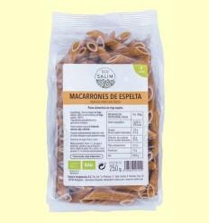 Macarrons d'Espelta Ecològics - Eco -Salim - 250 grams