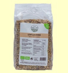 Llentia Verd Ecològica - Eco -Salim - 500 grams