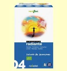Alba Radiant - Infusió Bio - Novadiet - 20 filtres