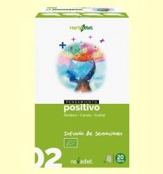 Pensament Positiu - Infusió de Roiboos Canela i Azahar Bio - Novadiet - 20 filtres