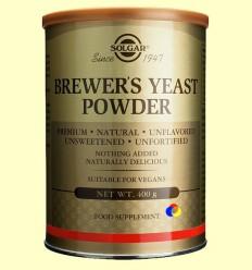 Llevat de cervesa en pols - Solgar - 400 grams ******