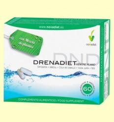Drenadiet Ventre Pla - Drenatge - Novadiet - 60 càpsules.
